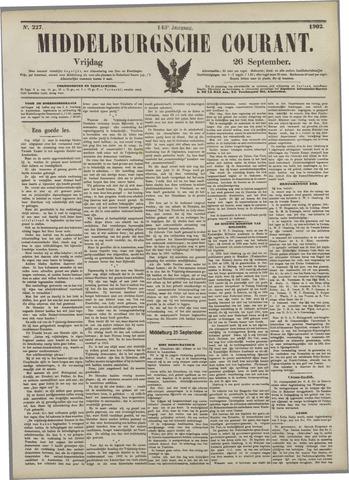 Middelburgsche Courant 1902-09-26