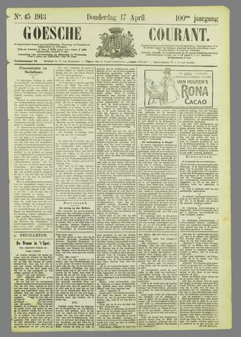Goessche Courant 1913-04-17