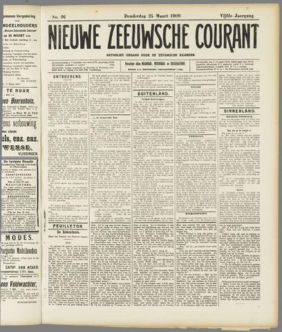 Nieuwe Zeeuwsche Courant 1909-03-25