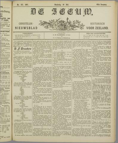 De Zeeuw. Christelijk-historisch nieuwsblad voor Zeeland 1897-07-29