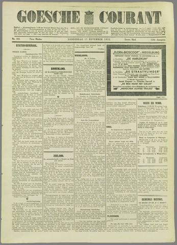 Goessche Courant 1932-11-17