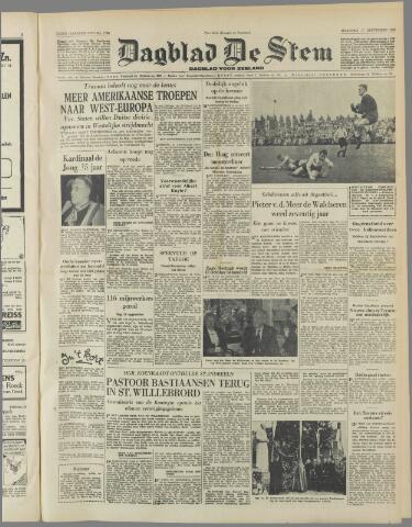 de Stem 1950-09-11