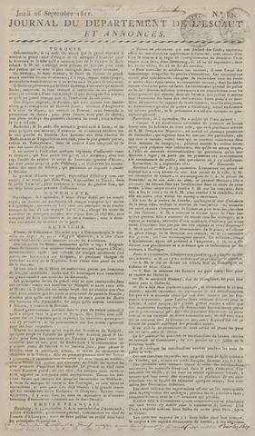 Middelburgsche Courant 1811-09-26