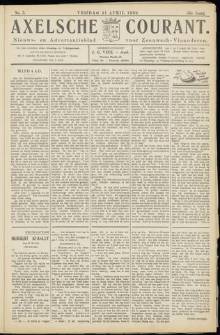 Axelsche Courant 1939-04-21