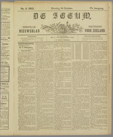 De Zeeuw. Christelijk-historisch nieuwsblad voor Zeeland 1902-10-14