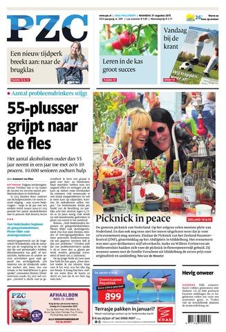 Provinciale Zeeuwse Courant 2015-08-31