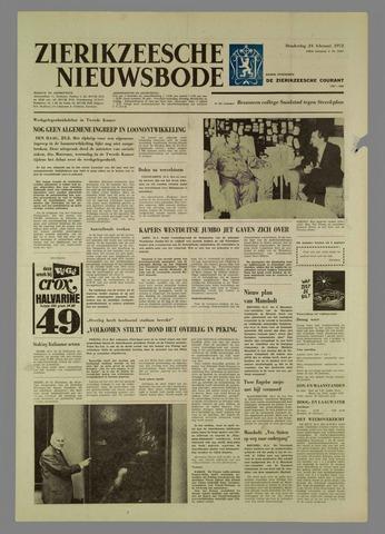 Zierikzeesche Nieuwsbode 1972-02-24