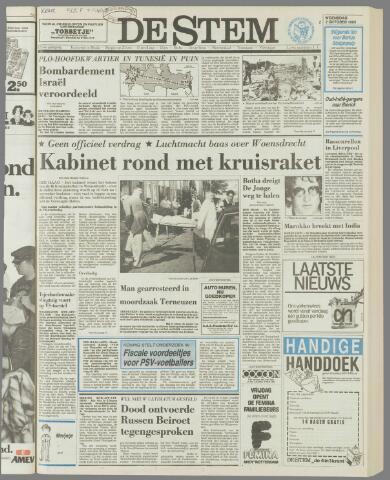 de Stem 1985-10-02