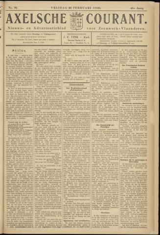 Axelsche Courant 1926-02-26