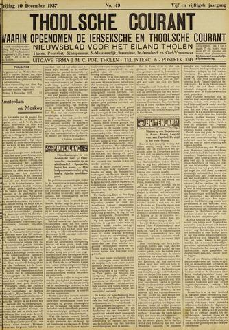 Ierseksche en Thoolsche Courant 1937-12-10
