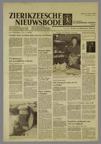 Zierikzeesche Nieuwsbode 1962-10-16