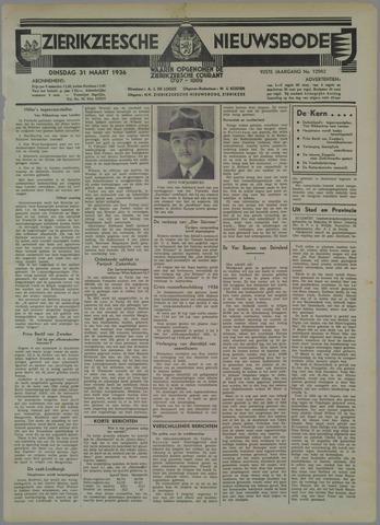 Zierikzeesche Nieuwsbode 1936-03-31