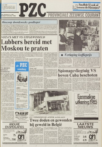 Provinciale Zeeuwse Courant 1985-11-05