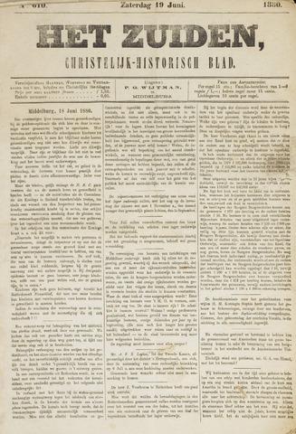 Het Zuiden, Christelijk-historisch blad 1880-06-19