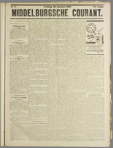 Middelburgsche Courant 1927-01-28