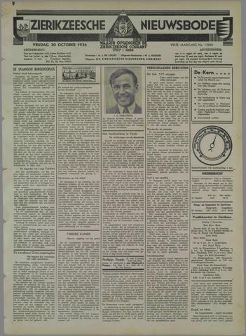 Zierikzeesche Nieuwsbode 1936-10-30