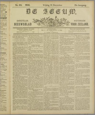 De Zeeuw. Christelijk-historisch nieuwsblad voor Zeeland 1906-12-14
