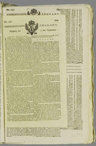 Middelburgsche Courant 1809-11-07