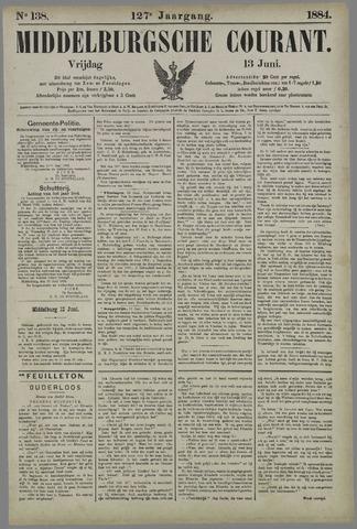 Middelburgsche Courant 1884-06-13
