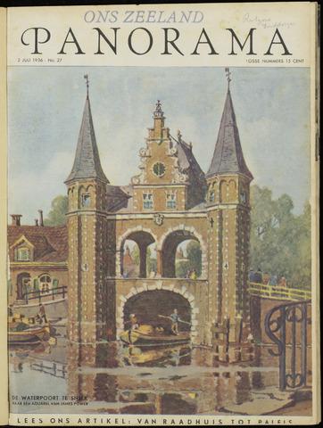 Ons Zeeland / Zeeuwsche editie 1936-07-02
