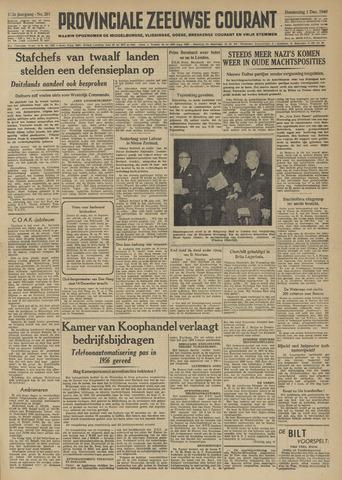Provinciale Zeeuwse Courant 1949-12-01