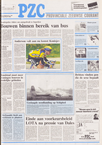 Provinciale Zeeuwse Courant 1990-07-20