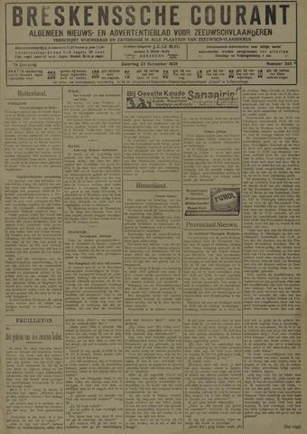 Breskensche Courant 1929-11-23