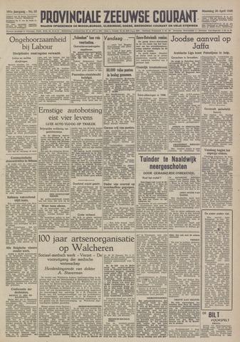 Provinciale Zeeuwse Courant 1948-04-26