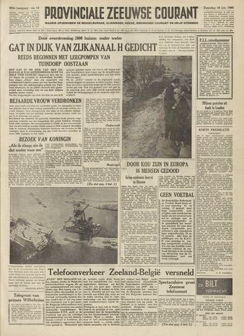 Provinciale Zeeuwse Courant 1960-01-16