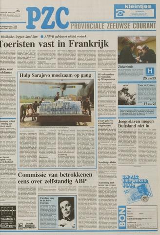 Provinciale Zeeuwse Courant 1992-07-02