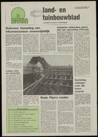Zeeuwsch landbouwblad ... ZLM land- en tuinbouwblad 1991-09-27