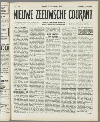 Nieuwe Zeeuwsche Courant 1911-09-05