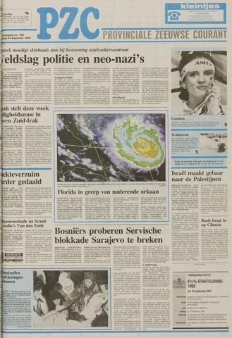 Provinciale Zeeuwse Courant 1992-08-24