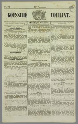 Goessche Courant 1859-09-26