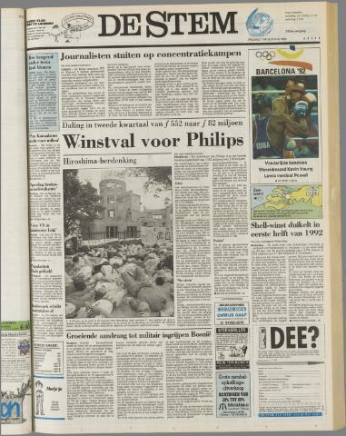 de Stem 1992-08-07