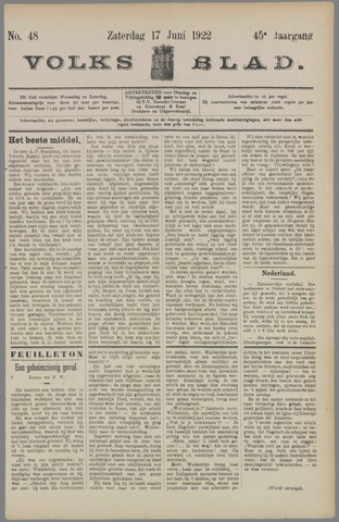 Volksblad 1922-06-17