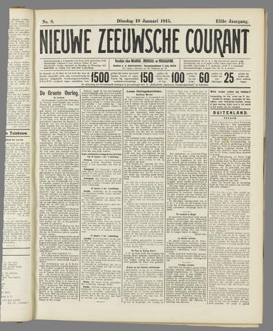 Nieuwe Zeeuwsche Courant 1915-01-19