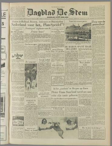 de Stem 1952-09-13