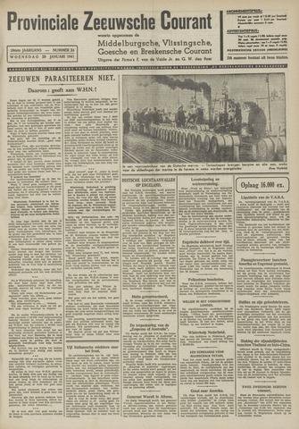 Provinciale Zeeuwse Courant 1941-01-29