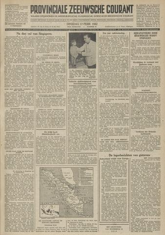 Provinciale Zeeuwse Courant 1942-02-17