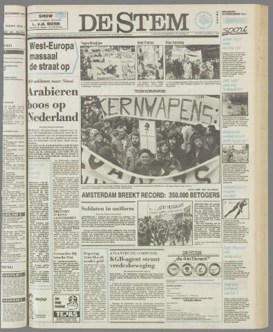 de Stem 1981-11-23