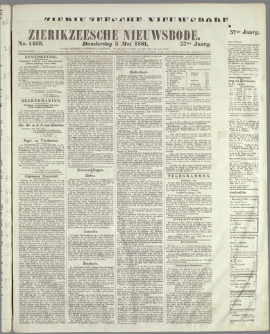 Zierikzeesche Nieuwsbode 1881-05-05