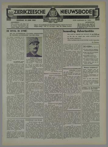 Zierikzeesche Nieuwsbode 1941-06-11