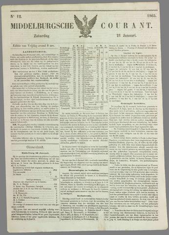 Middelburgsche Courant 1865-01-21