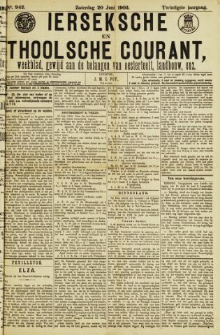 Ierseksche en Thoolsche Courant 1903-06-20