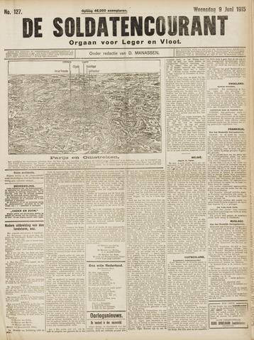 De Soldatencourant. Orgaan voor Leger en Vloot 1915-06-09