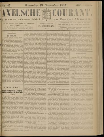 Axelsche Courant 1917-09-19