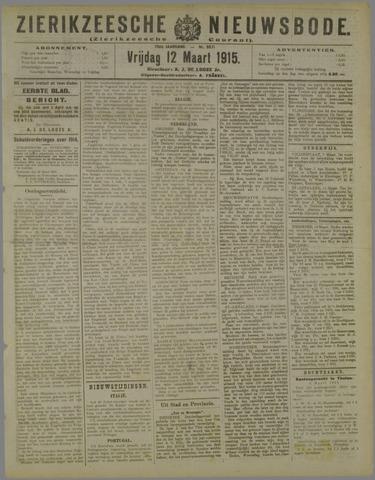Zierikzeesche Nieuwsbode 1915-03-12