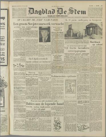 de Stem 1951-03-02
