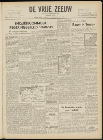 de Vrije Zeeuw 1952-09-27